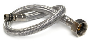 Hose flexible metal braid